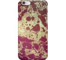 Vintage Patterned Paper 04 iPhone Case/Skin