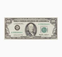United States $100 Dollar Bill (front) by CrazyAsia