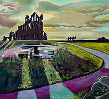 Whitby Abbey by Emily  Garces