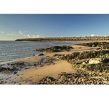 The Cumbrian Coast - Hodbarrow Photographic Print