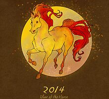 Year of the Horse 2014 by LilyM