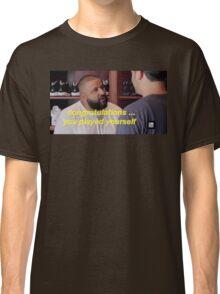 DJ Khaled Congratulations You Played Yourself Classic T-Shirt