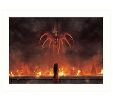 Alexandria Burning (19 left!) Art Print