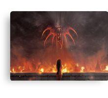 Alexandria Burning (19 left!) Metal Print