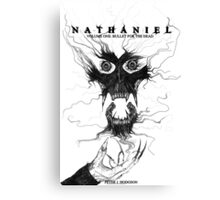 Nathaniel (cover) Canvas Print