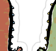 two dragons Sticker