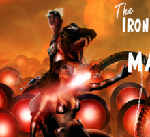 Pulp Adventure Stories: The Iron Beasts of Mars! Sticker