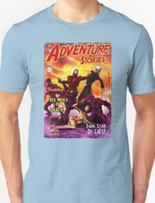 Pulp Adventure Stories: The Red World of Death! T-Shirt
