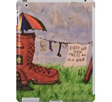 'Every Old Sock Meets An Old Shoe' iPad Case/Skin