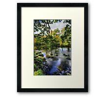 Peaceful River Framed Print