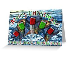 A Blast from the Past Xmas Greeting Card