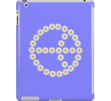 flower power, peace and love iPad Case/Skin