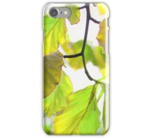 Leaves 2 iPhone Case/Skin