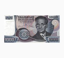 Austria 1000 Schillings Banknote by CrazyAsia