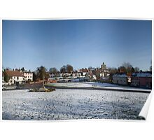 Essex snow Poster