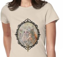 The Garden of Delights Womens Fitted T-Shirt