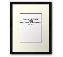 2015S Framed Print