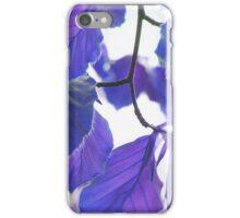Leaves 5 iPhone Case/Skin