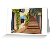 Au coeur du village. Greeting Card