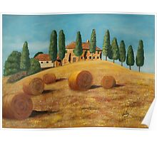 Tuscan sunshine Poster