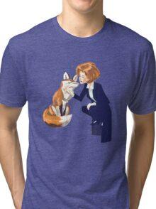 trust of a fox - x files Tri-blend T-Shirt