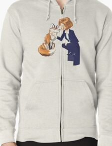 trust of a fox - x files Zipped Hoodie