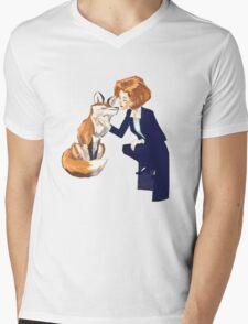 trust of a fox - x files Mens V-Neck T-Shirt