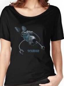 Scubar - Self Contained Underwater Breathing Apparatus Robot Women's Relaxed Fit T-Shirt