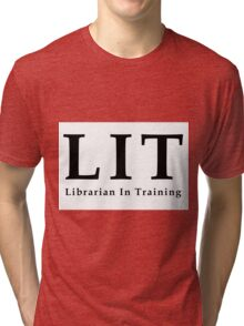 The Librarians: Librarian In Training Tri-blend T-Shirt