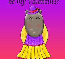 No.124 > Will you be my Valentine? (Girl) by hippoville