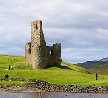 Ardvreck Castle by lezvee