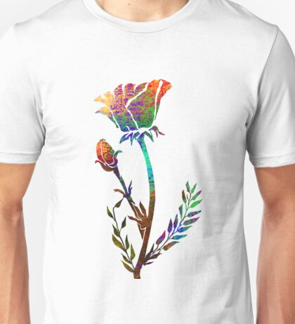 Poppy Flower Unisex T-Shirt