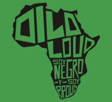 DILO LOUD: Africa One Piece - Short Sleeve