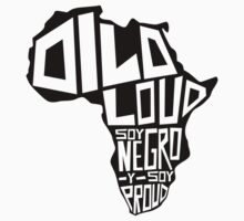 DILO LOUD: Africa Kids Tee