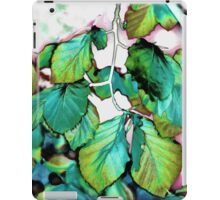 Leaves 11 iPad Case/Skin