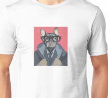 hipster dog Unisex T-Shirt
