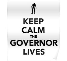 The Governor lives Poster