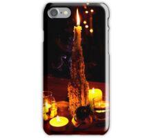Dark candle light  iPhone Case/Skin