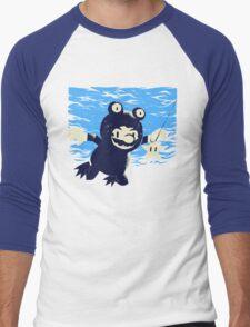 never-a-mind Men's Baseball ¾ T-Shirt