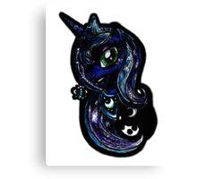 Princess Luna-second my little pony piece Canvas Print