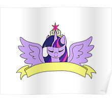 Princess Sparkle - Plain Banner Version Poster