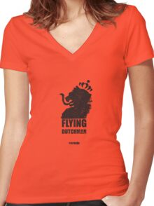 Holland / Dutch Supporter Oranje Women's Fitted V-Neck T-Shirt