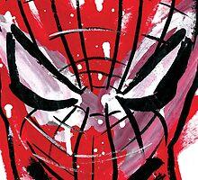 Spiderman splash by hazeleyesstudio