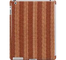 Beige and orange fabric texture iPad Case/Skin