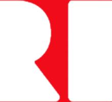 Red Bubble Logo T-Shirt Sticker