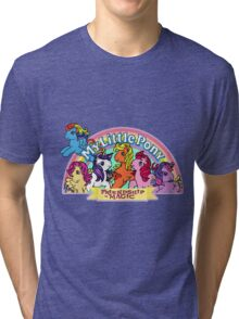Vintage friendship is magic. Tri-blend T-Shirt