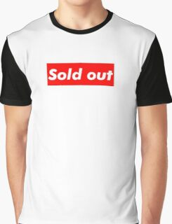"""Supreme """"Sold out"""" Graphic T-Shirt"""