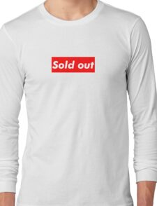 """Supreme """"Sold out"""" Long Sleeve T-Shirt"""