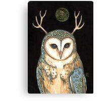 Owl Spirit Canvas Print