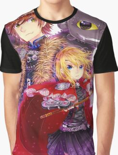 Httyd 2 - Red Riding AU Graphic T-Shirt